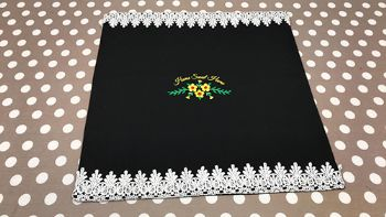 Home Sweet Home Embroidered Cushion cover
